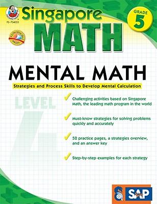 Mental Math Grade 5 By Singapore Asian Publications (COM)